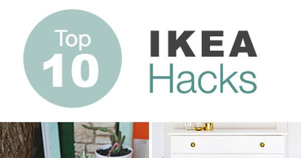 Top 10 ikea hacks inredning m bler och f r hemmet - Houten buffet recyclen ...