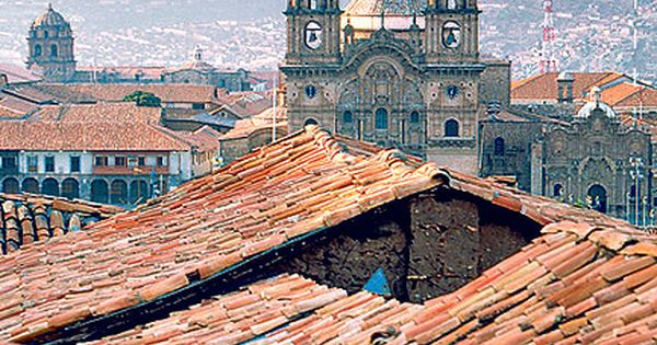 Cuzco, Peru. As the ancient Inca capital, it is a beautiful, yet
