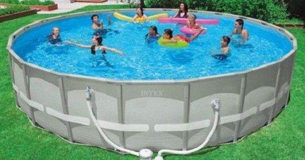 Above Ground Swimming Pool Intex 22 X52 Quot Steel Frames
