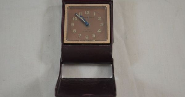 Vintage Abercrombie And Fitch Swiss Winding Travel Alarm