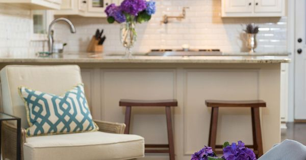 Timeless, Traditional Kitchen + Living Room | Fresh Faces of Design |