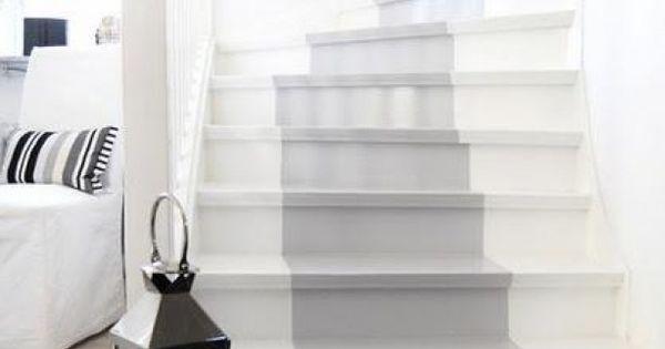 Leuk idee voor de trap verf een loper trappen stairs pinterest lopers verf - Idee voor trappen ...