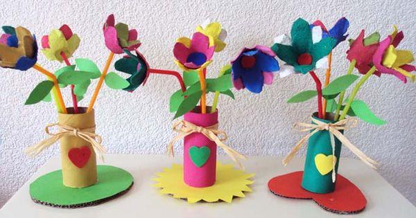 Fleur avec boite a 682 390 travaux manuels for Bouquet de fleurs dans une boite