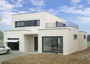 La Maison Cubique Une Des Tendances De L Habitat Moderne Maison Cubique Maison Moderne Toit Plat Plan Maison Moderne