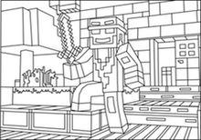 Check More At Https Bo Peep Club Minecraft Castle Coloring Pages