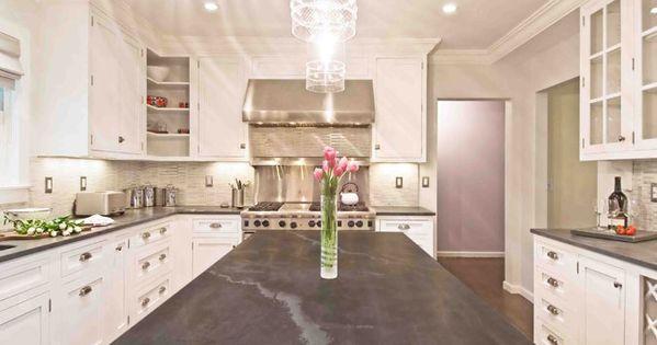 Jet Mist Honed Black Granite Countertops Kitchens