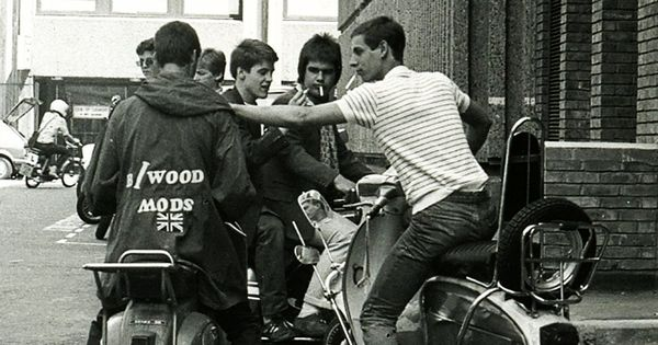 60s Mods wearing polo shirts and parkas. | past ...
