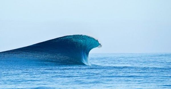 The perfect wave - One of my favorite photos.