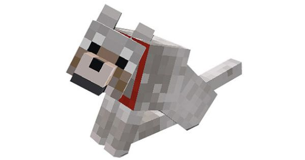 Minecraft Dog Sitting Vinyl Wall Decal By Wilsongraphics
