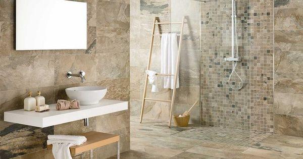 Piastrella bagno effetto pietra iperceramica bengal 18 95 floor pinterest piastrella e bagno - Bagno effetto pietra ...