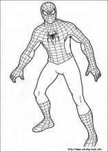 Spiderman Coloring Pages On Coloring Book Info Spiderman Coloring Superhero Coloring Pages Avengers Coloring Pages