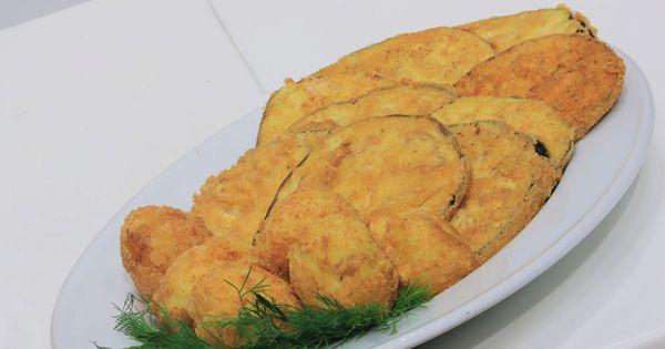 Cbc Sofra طريقة تحضير بطاطس وباذنجان بانيه نجلاء الشرشابي Recipe