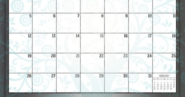 Printable lds primary 2014 monthly calendar families are for Forever calendar template