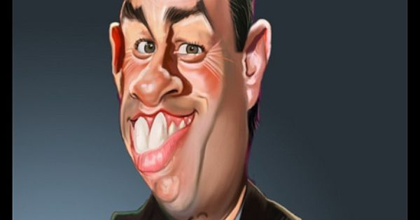 Funny Celebrity Caricatures – 40 Pics - Dump a Day
