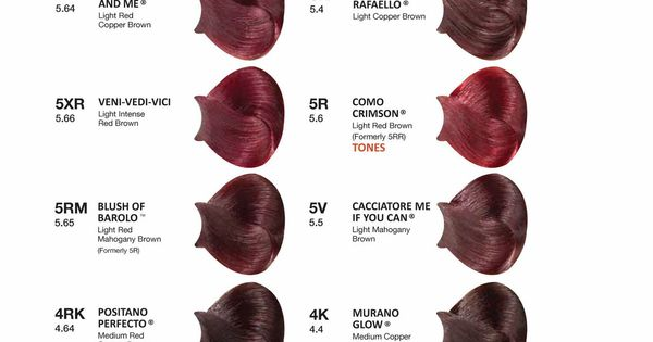 Consumer Swatchbook Hair Color Reviews Red Hair Images Hair Color Chart