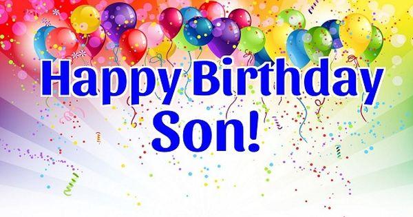 Pin By Hanna Kropkowska On Happy Birthday: Happy Birthday Son Animated Images