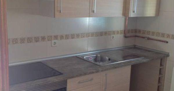 Muebles de cocina a medida en madera color haya jaspeado - Muebles de piedra ...