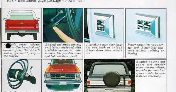 Car Brochures 1979 Chevrolet And Gmc Truck Brochures 1979 Chevy Blazer 07 Jpg Car Brochure Gmc Truck Chevy