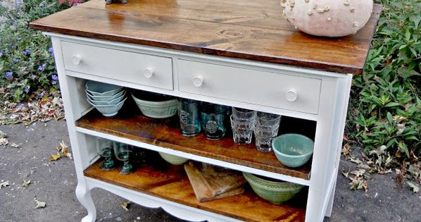 Home Design Ideas Pictures: Transform An Old Dresser Into A Storage-packed Kitchen