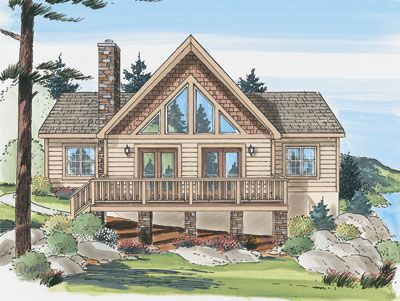 Northwoods Chalet Maston Homes Building A Future Pinterest Lake House Plans