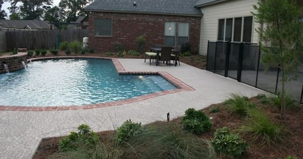 Brick Coping Pool Coping Swimming Pool Angelo 39 S Lawn