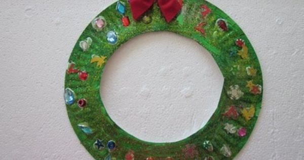 Paper Plate Crafts For Kids Christmas