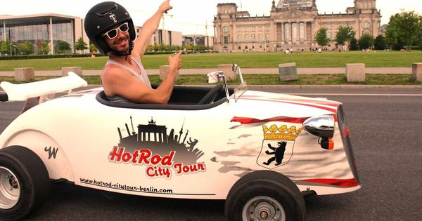 mini hot rod berlin sightseeing tour prague berlin koln. Black Bedroom Furniture Sets. Home Design Ideas