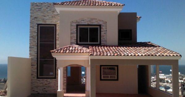 Fachadas de casas coloniales modernas pinteres for Fachadas de casas modernas en queretaro