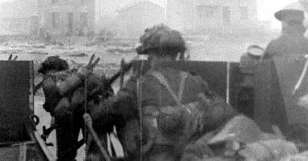 canadian d day footage