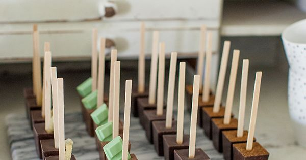I spy some Ticket chocolate's awesome hot chocolate sticks in this post