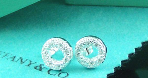 "Tiffany & Co Outlet Tiffany ""O"" Shaped Earrings. Loooove"