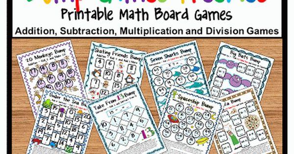 Bump Math Games Freebies Kids Love To Bump Guided Math