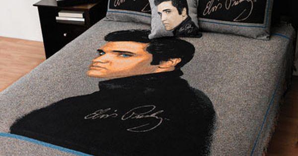 Quot Portrait Of Elvis Quot Bedding On Page 75 Of Fingerhut