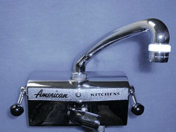 1940 S Kitchens With Images Kitchen Faucet With Sprayer American Kitchen Wall Mount Kitchen Faucet