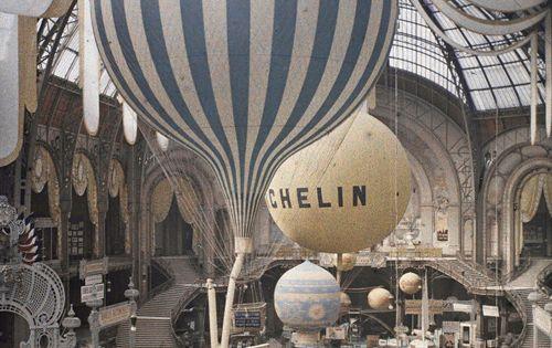 electricnest's photo on Instagram - Léon Gimpel at the 1909 Grand Palais