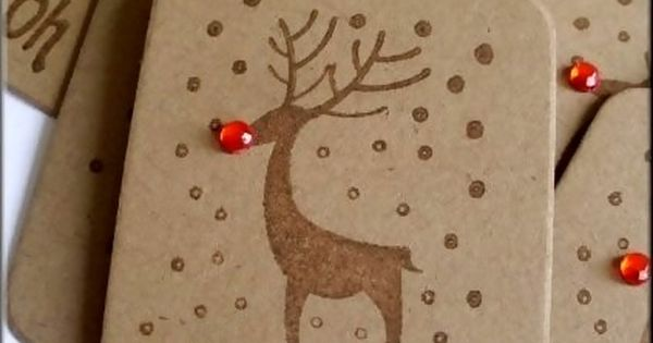 reindeer gift tags- love Gift Wrap Gift Wrapping Gift Wrapper| http://giftwrapping516.blogspot.com