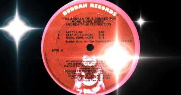 The Andrea True Connection More More More 1975 Youtube