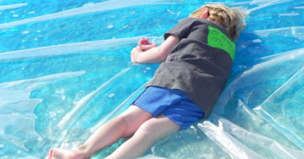 Redneck Waterbed | Activities For Children | Outdoor Play, Squishy Bags, Water