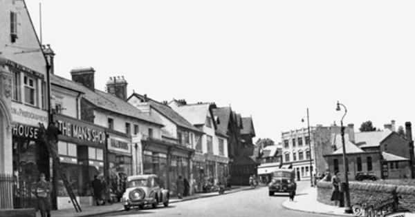 Photo Of Caerphilly Cardiff Road C1955 Francis Frith Photo Caerphilly South Wales