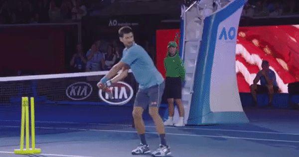 New Party Member Tags Fail Tennis Nope Strike Novak Djokovic Djokovic Australian Open Aussie Open Whiff Djoker Swing Tennis Funny Bones Funny Novak Djokovic