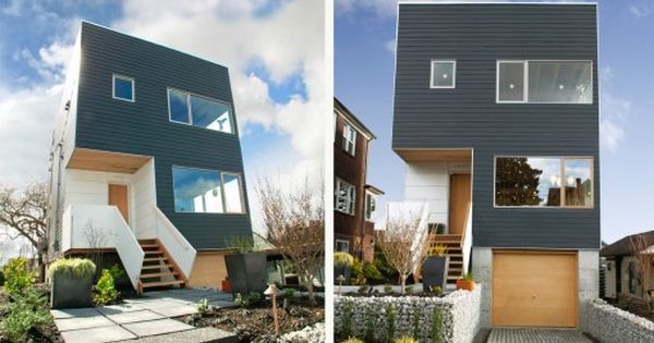 Washington state 39 s first leed platinum modular home for Prefabricated homes seattle