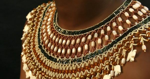 Necklace | Jeanette Bartlett, a South African bead artist. Photo by AllBoldGraphics