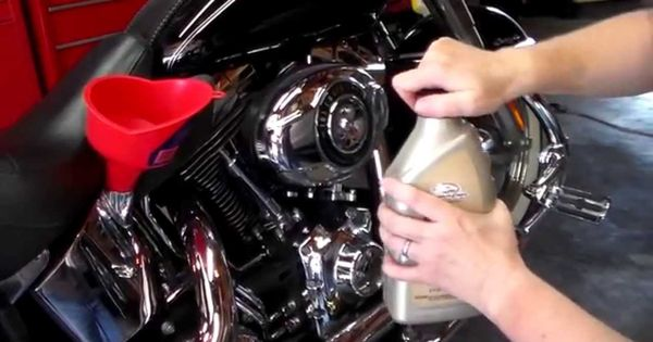 How To Change The Oil On A Harley Davidson Softail Deluxe