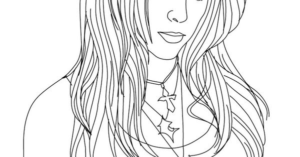 shakira coloring pages games - photo#26
