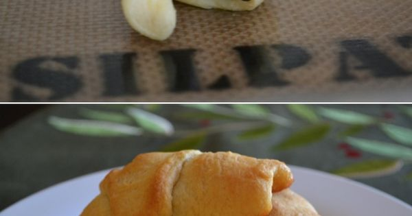 A nice take on s'mores: Crescent roll s'mores!