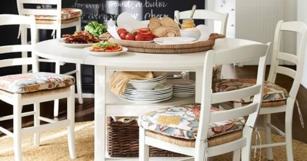 Shayne drop leaf kitchen table pottery barn home pinterest more barn and leaves ideas - Shayne kitchen table ...