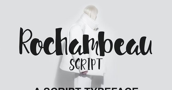 Rochambeau Script Font by Polythene Designs on @creativemarket