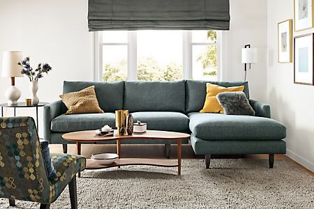 Jasper Sofas With Chaise Modern Chaise Sofas Modern Living