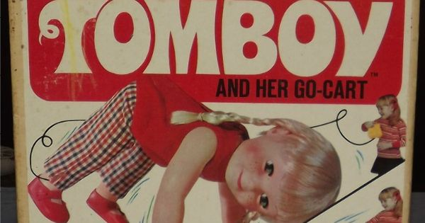 Tomboy Toys For Girls : Remco tumbling tomboy and her go cart vintage toys