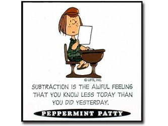 Sometimes I Feel This Way When My Students Stump Me With Their Life Ponderings Peppermint Patty Peanuts Snoopy Funny Peanuts Gang